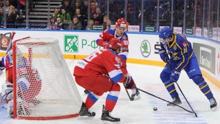 Чемпион мира обыграл олимпийского: в Ярославле прошёл хоккейный матч Россия — Швеция