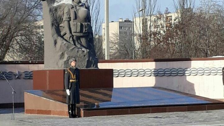В Волгограде вспоминают жертв чеченской войны