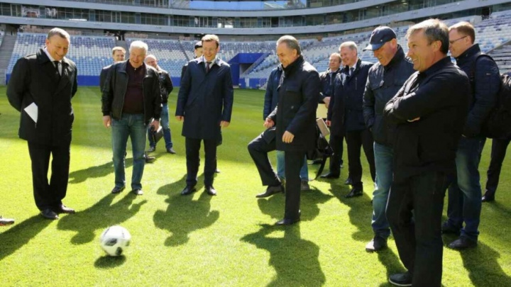 Виталий Мутко: «Самара будет претендовать на тройку лучших стадионов страны»