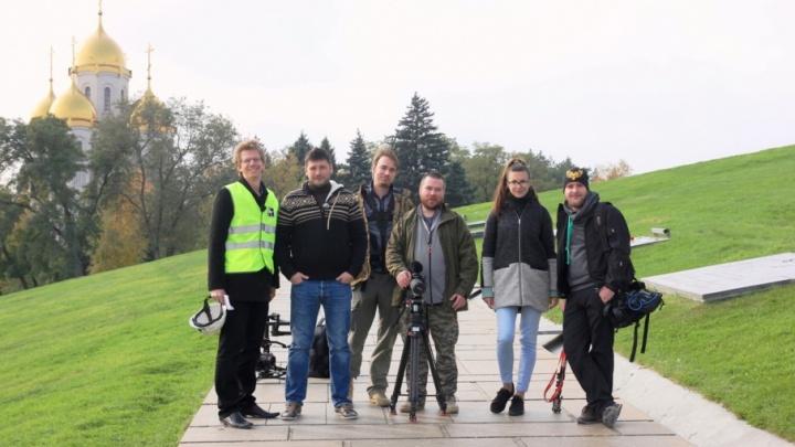 Московские телевизионщики сняли передачу о Волгограде