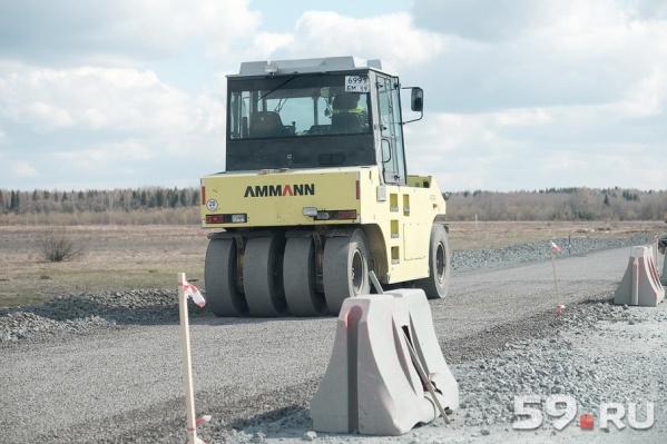 В Перми и округе с начала года отремонтировали 134 км дорог по федеральной программе