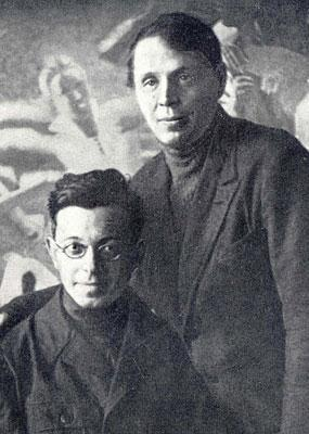 Натан Стругацкий (слева); сайт Российской национальной библиотеки