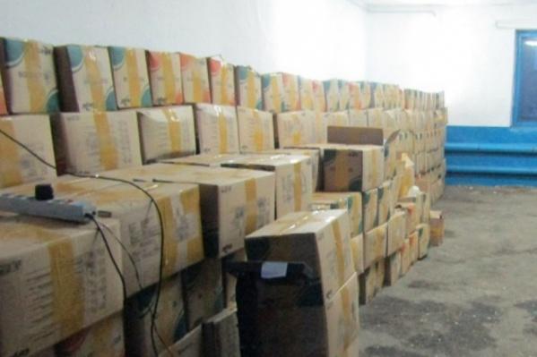 21 тонна насвая была изъята на российско-казахстанской границе
