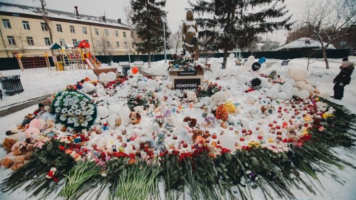 Игрушки, которые тюменцы принесли к памятнику маме, передали сиротам