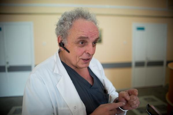 Леонид Полляк стал единственным лауреатом Всероссийского конкурса врачей от Южного Урала в этом году