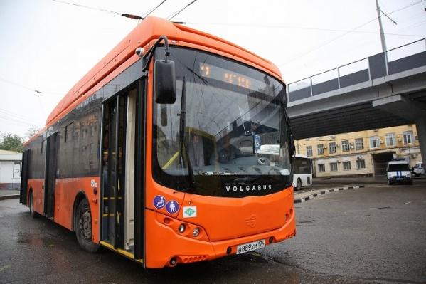 Автобусы, следующие из центра города, перейдут в режим работы в часы пик
