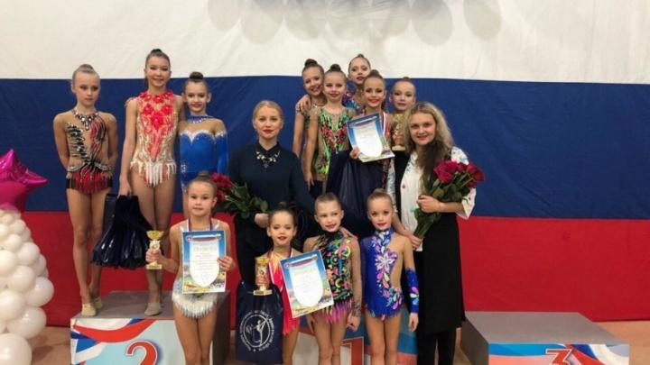 Первенство Поморья по художественной гимнастике собрало рекордное количество спортсменов
