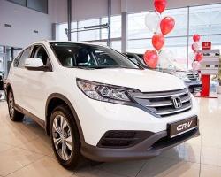 Новый Honda CR-V 2,4 L ждет покупателей на улице Федюнинского