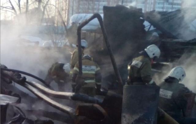 За выходные в Прикамье на пожарах погибли две женщины