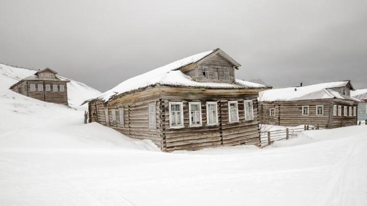 С надеждой на Деда Мороза: поморская деревня Лямца осталась без дорог перед Новым годом