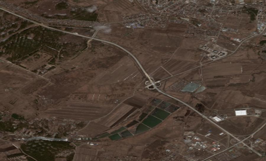 Фото из космоса было сделано 19 апреля.