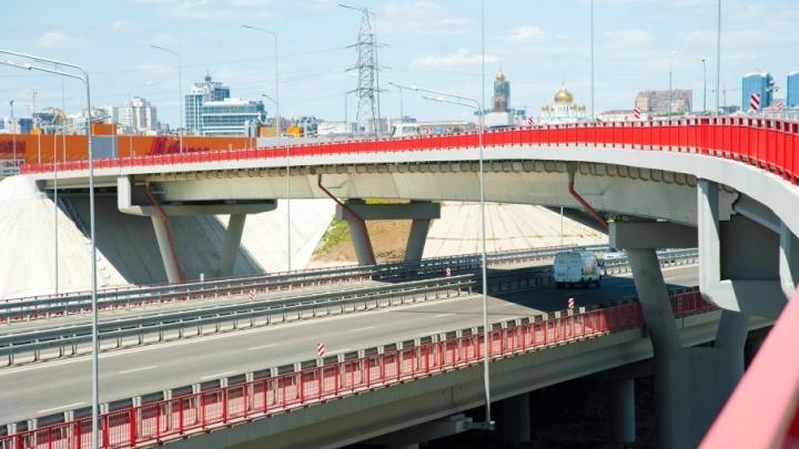 Успели за полтора года: дорожники завершили первый этап реконструкции Южного подъезда к Ростову