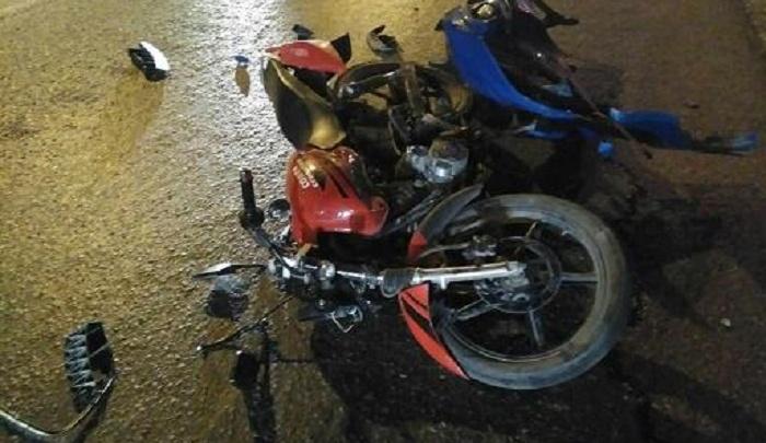 Без прав, без шлема: пермский подросток на мотоцикле врезался в иномарку