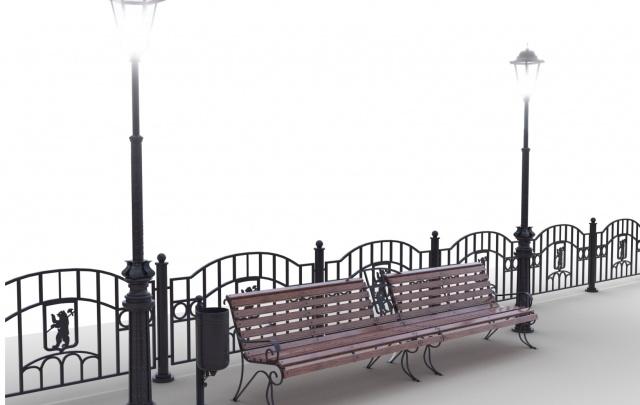 Ярославские власти изобрели новый вид уличной мебели: фото