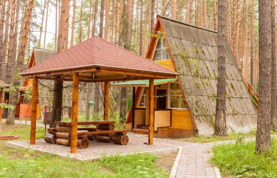 Финские домики.