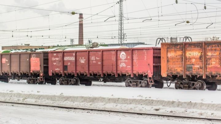 В Самарской области группа подростков закидала камнями грузовой поезд