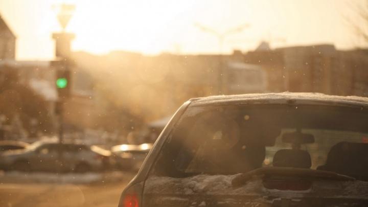 На следующей неделе в Тюмени станет по-весеннему тепло