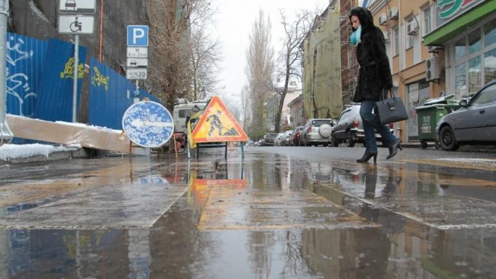 В Ростове на 38-й Линии до Нового года ограничат движение транспорта