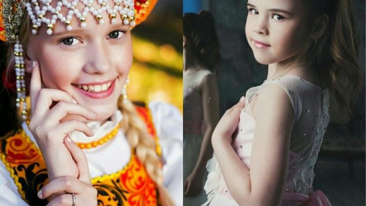 Две маленькие мисс Тюмени отправятся в Грецию и Болгарию на международные фестивали