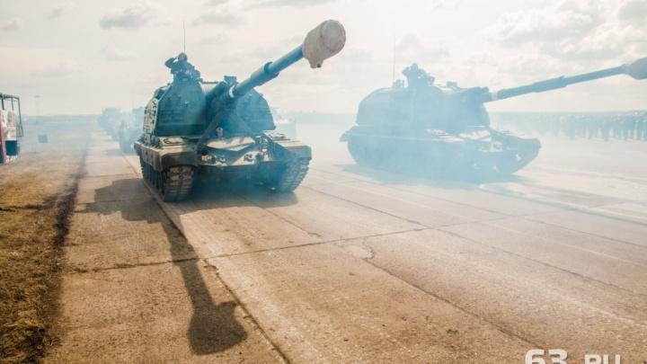 Колонну военной техники на параде Победы в Самаре возглавит танк Т-34