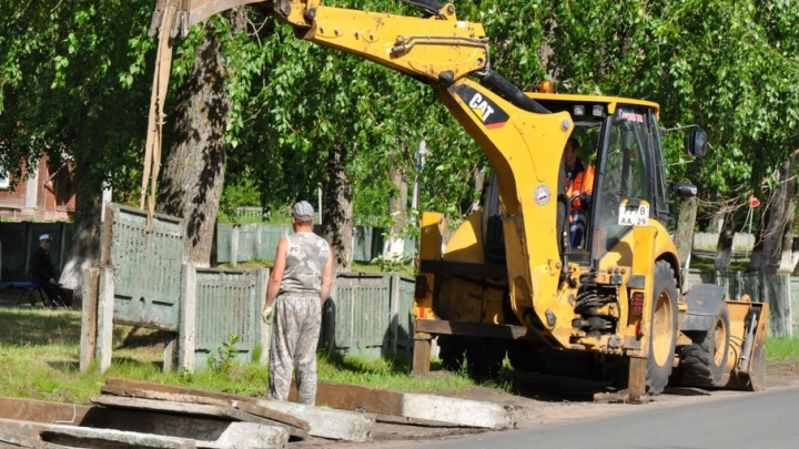 К юбилею Новодвинска горожане получили отремонтированную аллею