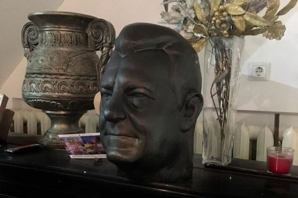 Бюст Франца Йозефа Штрауса в мастерской скульптора