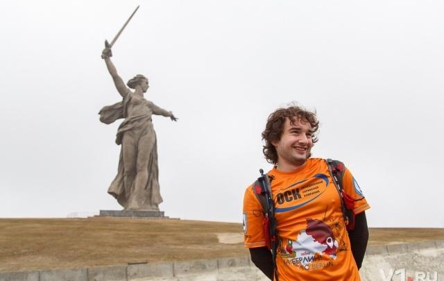 Бегущий из Волгограда в Берлин марафонец уже добрался до Белоруссии