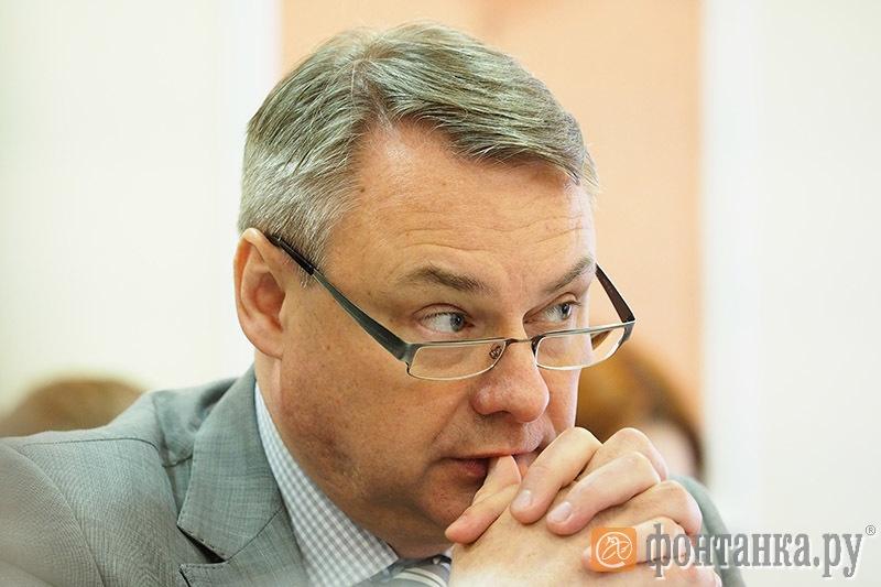 Игорь Шикалов, заместитель председателя Комитета по строительству Санкт-Петербурга