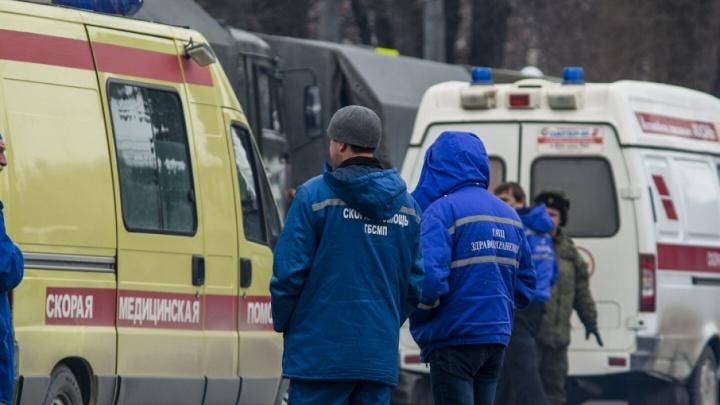 На Королева столкнулись маршрутка и ВАЗ: пострадал пассажир