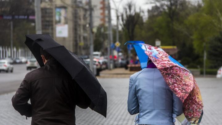Сильные дожди с грозой и градом пройдут в Ростовской области