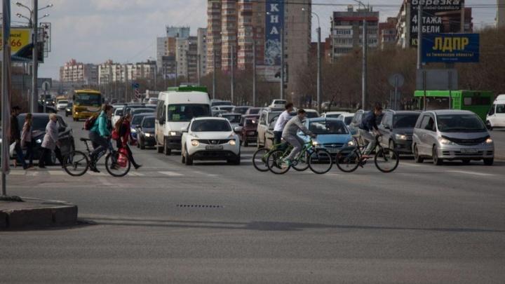 Тюменцев призывают на один день пересесть с машин и автобусов на велосипеды