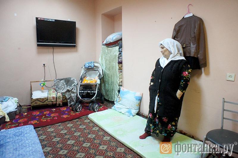 Комната, где жила семья.