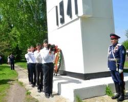 В Старочеркасской прошел митинг в честь 70-летия Победы