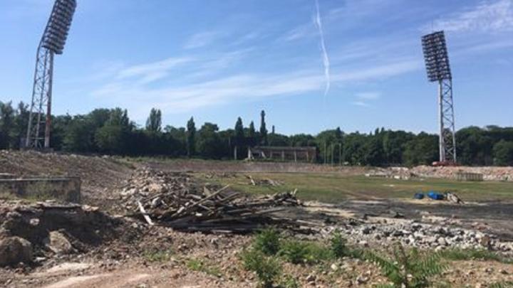В Ростове на 80% разобрали стадион «СКА»