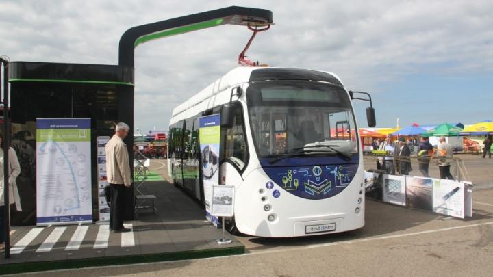 Власти Ростова потратят 37 миллионов рублей на покупку электробуса