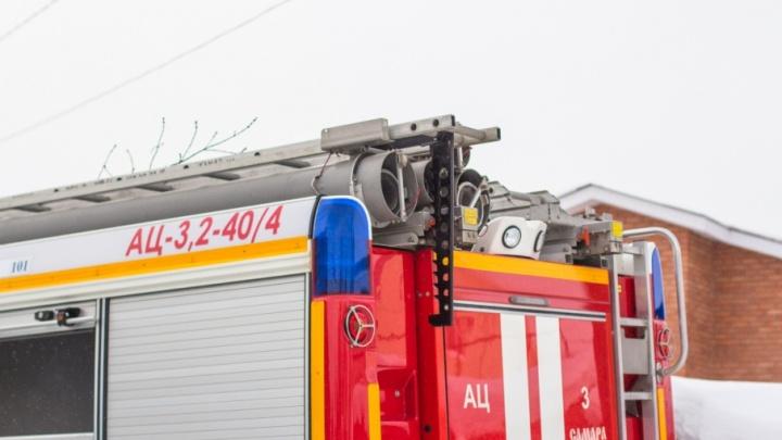 На Волге на судоремонтном заводе горел танкер «Волгонефть»