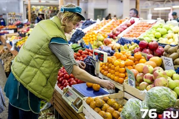 На рынках Ярославля мандарины на любой вкус