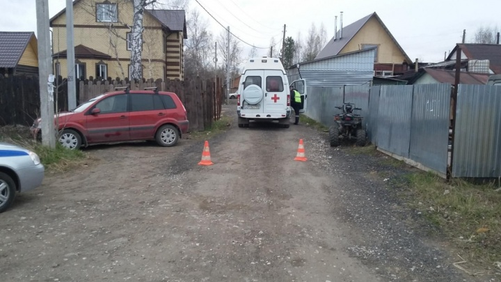 В Перми подросток на квадроцикле сбил двухлетнего мальчика