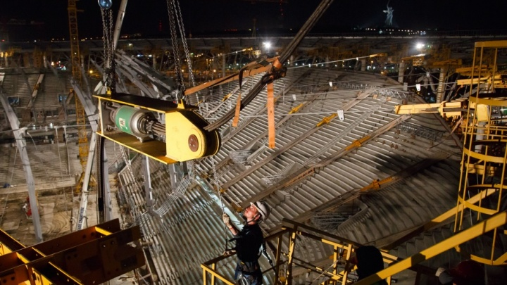 Стройфирма не смогла оспорить штраф за гибель рабочего при строительстве «Волгоград Арены»