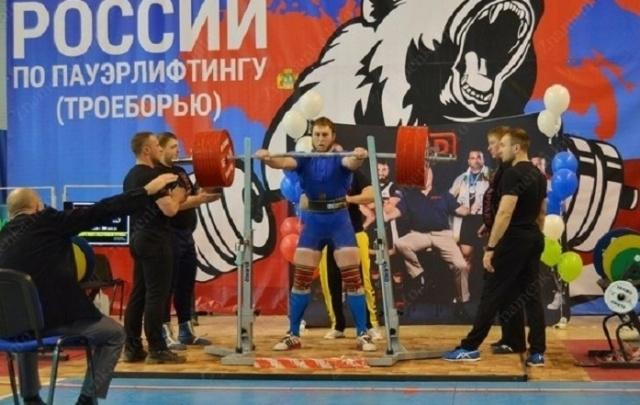 Ростовчанин установил новый рекорд России по пауэрлифтингу