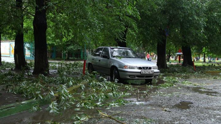 Пятое предупреждение за неделю: на Южный Урал надвигаются грозы и град