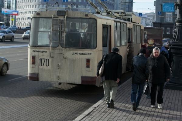 Привычную схему движения троллейбусов в Ленинском планируют восстановить 14 октября