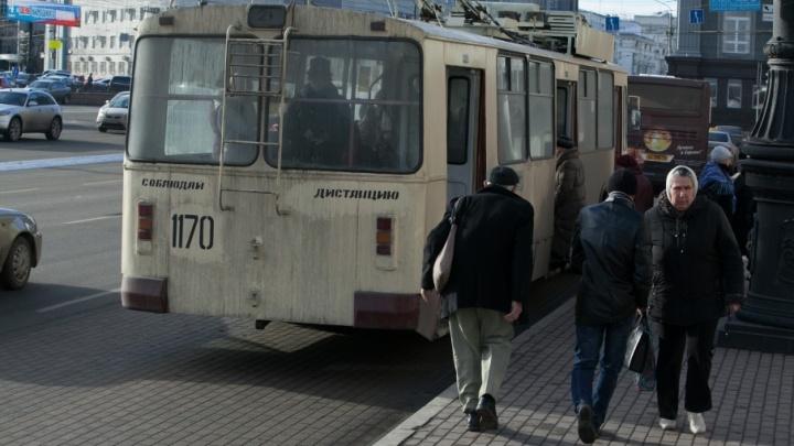 В Ленинском районе снова поменяют схему движения троллейбусов