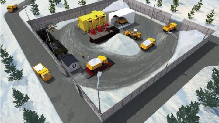 Появилась схема снегоплавильной станции, которую построят в Самаре