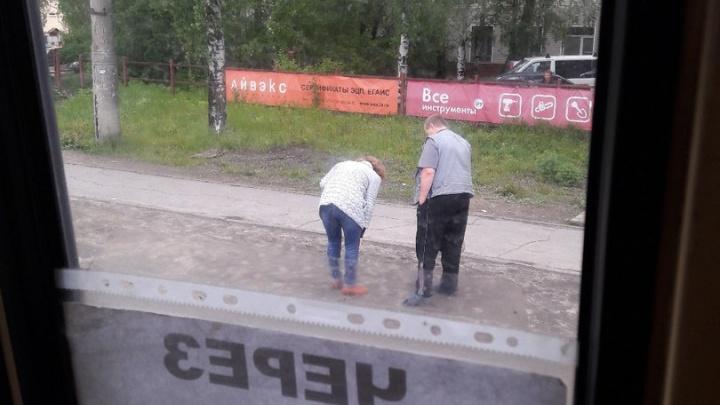 На Ленинградском проспекте водитель сбил женщину и поехал дальше