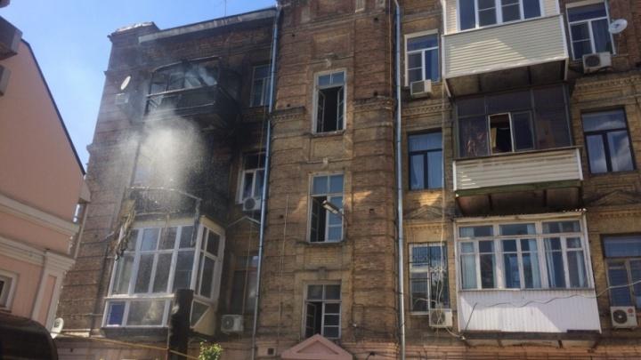 На пожаре в Ростове спасли четырех человек