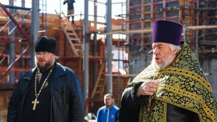 В строящемся Александро-Невском соборе в Волгограде пройдет первый молебен