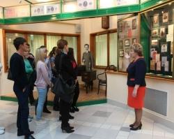 Студенты отметили в стенах Музея Сбербанка Международный день грамотности
