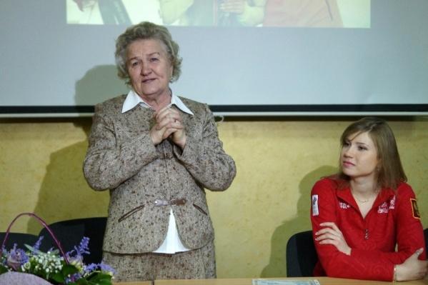 Лидия Скобликова намерена заказать медаль у златоустовских мастеров