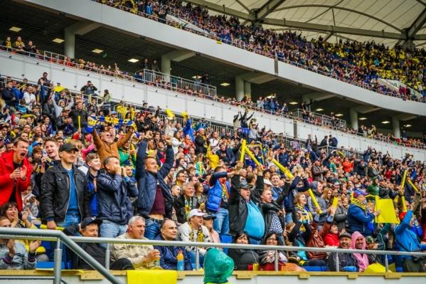 Матч посетило больше 40 тысяч болельщиков